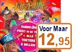 Jettie Pallettie, Dubbeldik Feest in de tent. 2Cd